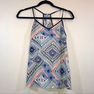 Skies Are Blue Aztec Racerback Swing Tank - #1212